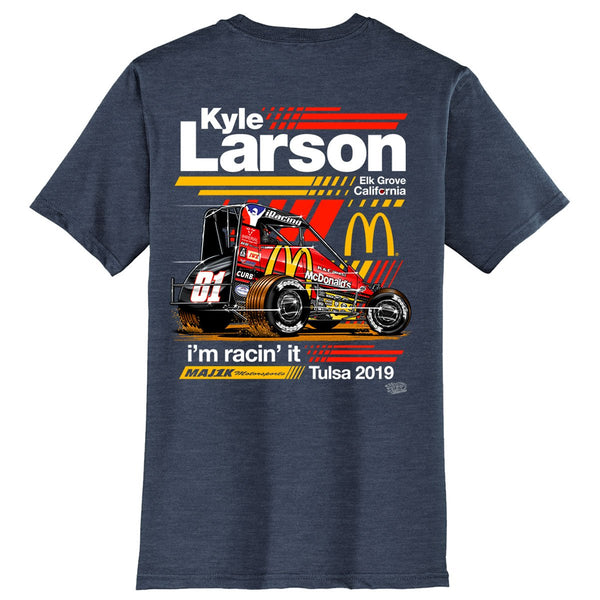 "Kyle Larson ""I'm Racin' It"" T-Shirt"