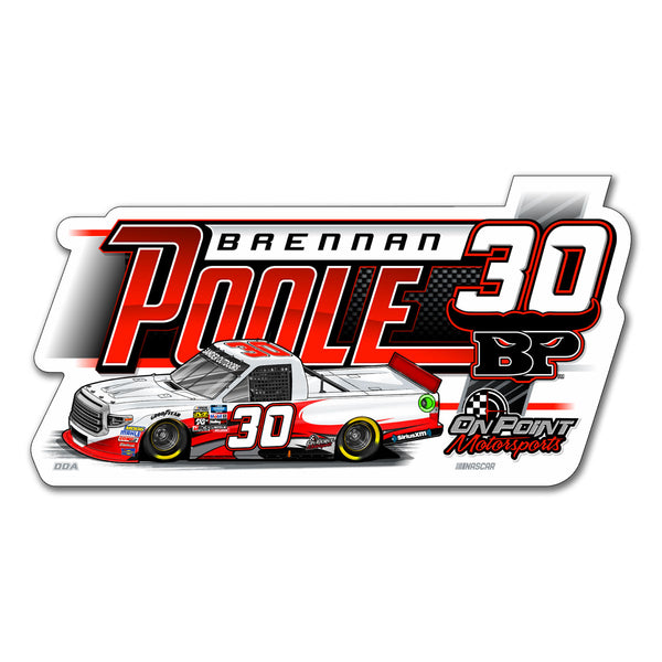 "Brennan Poole ""Mowing Down the Competition"" Decal"