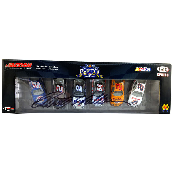 "Rusty Wallace ""Rusty's Last Call"" Die Cast *Autographed"