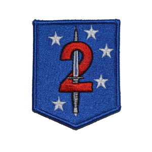 2d Marine Raider Battalion Patch MarSOC Shield