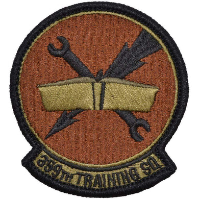 Tactical Gear Junkie Insignia 359th Training Squadron Patch - USAF OCP/Scorpion