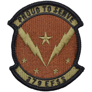Tactical Gear Junkie Insignia 379th Expeditionary Force Support Squadron Patch - USAF OCP/Scorpion