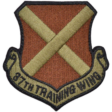 Tactical Gear Junkie Insignia 37th Training Wing Patch - USAF OCP/Scorpion
