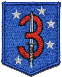 3d Marine Raider Battalion Patch MarSOC Shield