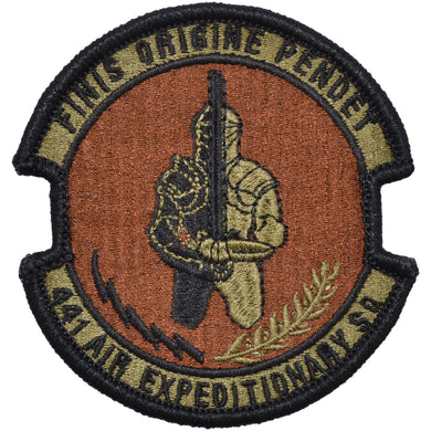 Tactical Gear Junkie Insignia 441st Air Expeditionary Squadron Patch - USAF OCP/Scorpion