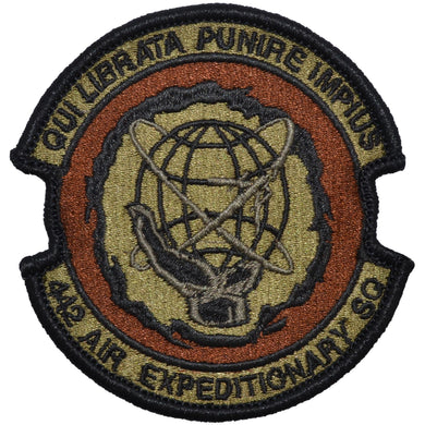 Tactical Gear Junkie Insignia 442nd Air Expeditionary Squadron Patch - USAF OCP/Scorpion