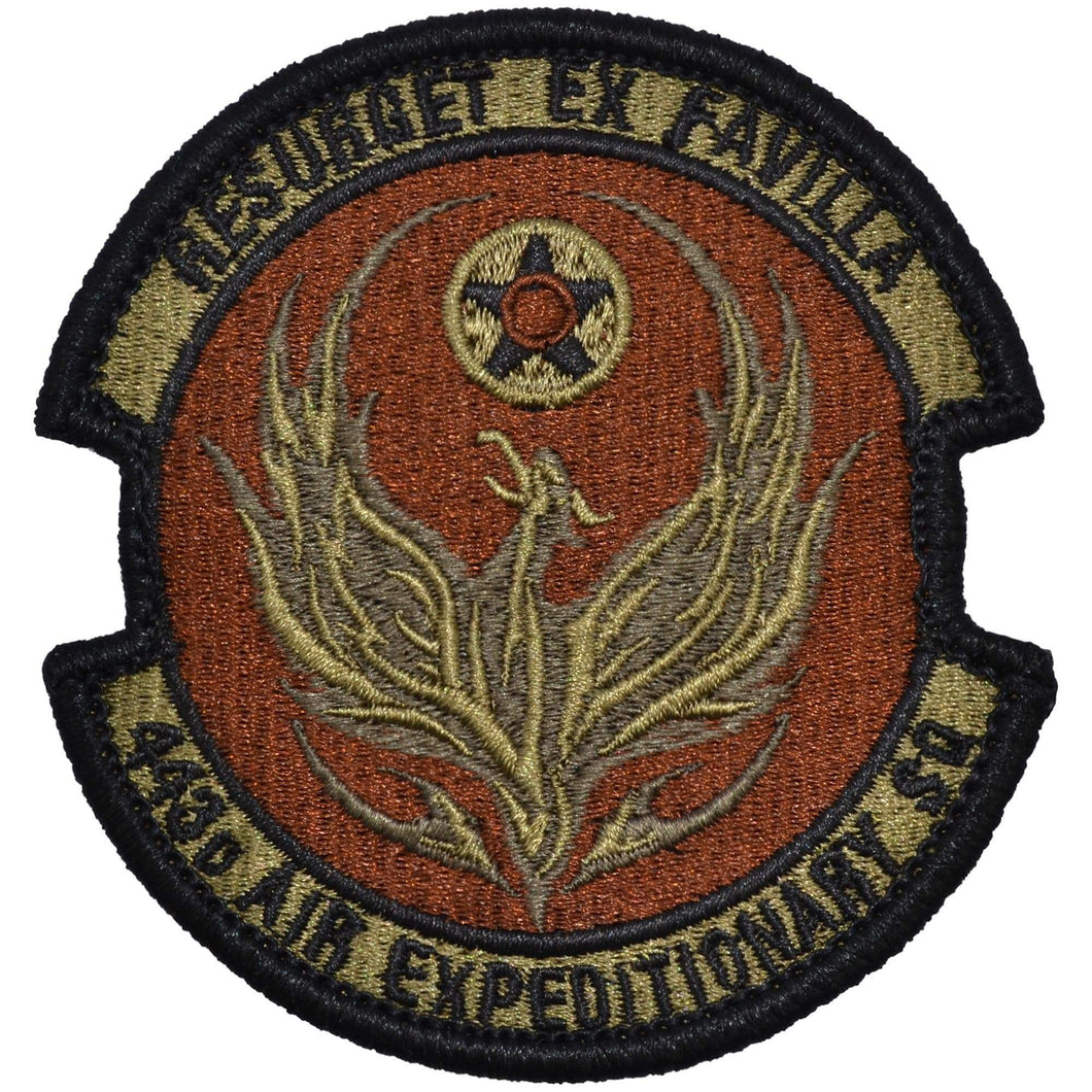Tactical Gear Junkie Insignia 443rd Air Expeditionary Squadron Patch - USAF OCP/Scorpion