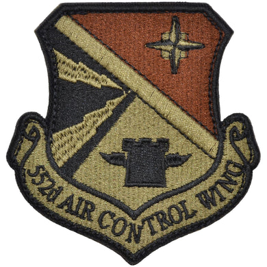 Tactical Gear Junkie Insignia 552nd Air Control Wing Patch - USAF OCP/Scorpion