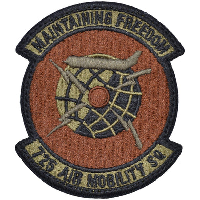 Tactical Gear Junkie Insignia 725th Air Mobility Squadron Patch - USAF OCP/Scorpion