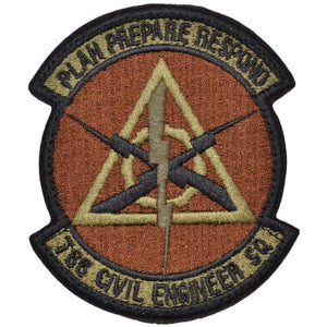 Tactical Gear Junkie Insignia 788th Civil Engineer Squadron Patch - USAF OCP/Scorpion