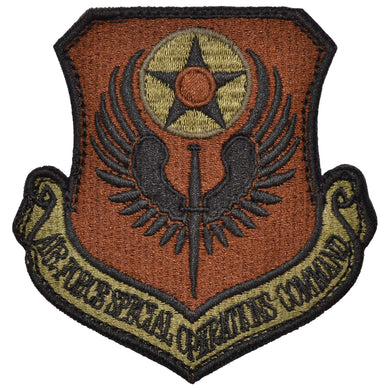 Tactical Gear Junkie Insignia Air Force Special Operations Command Patch - USAF OCP/Scorpion