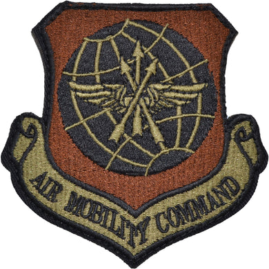 Tactical Gear Junkie Insignia Air Mobility Command Patch - USAF OCP/Scorpion