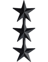 Pin-On Subdued Metal Rank - Enlisted/Officer