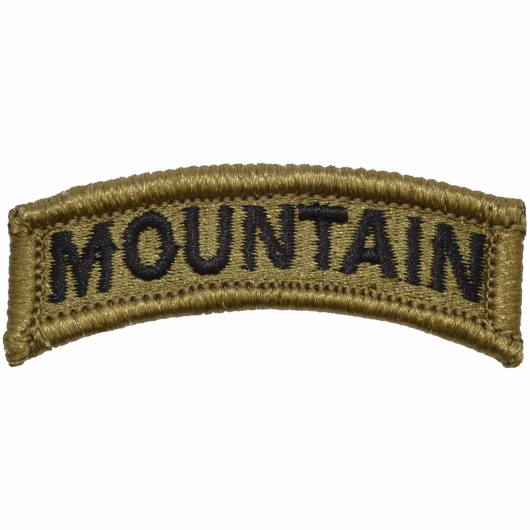 Tactical Gear Junkie Insignia Mountain Tab Patch - OCP/Scorpion