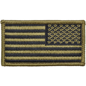 USA Flag Fully Embroidered Patch - OCP/Scorpion