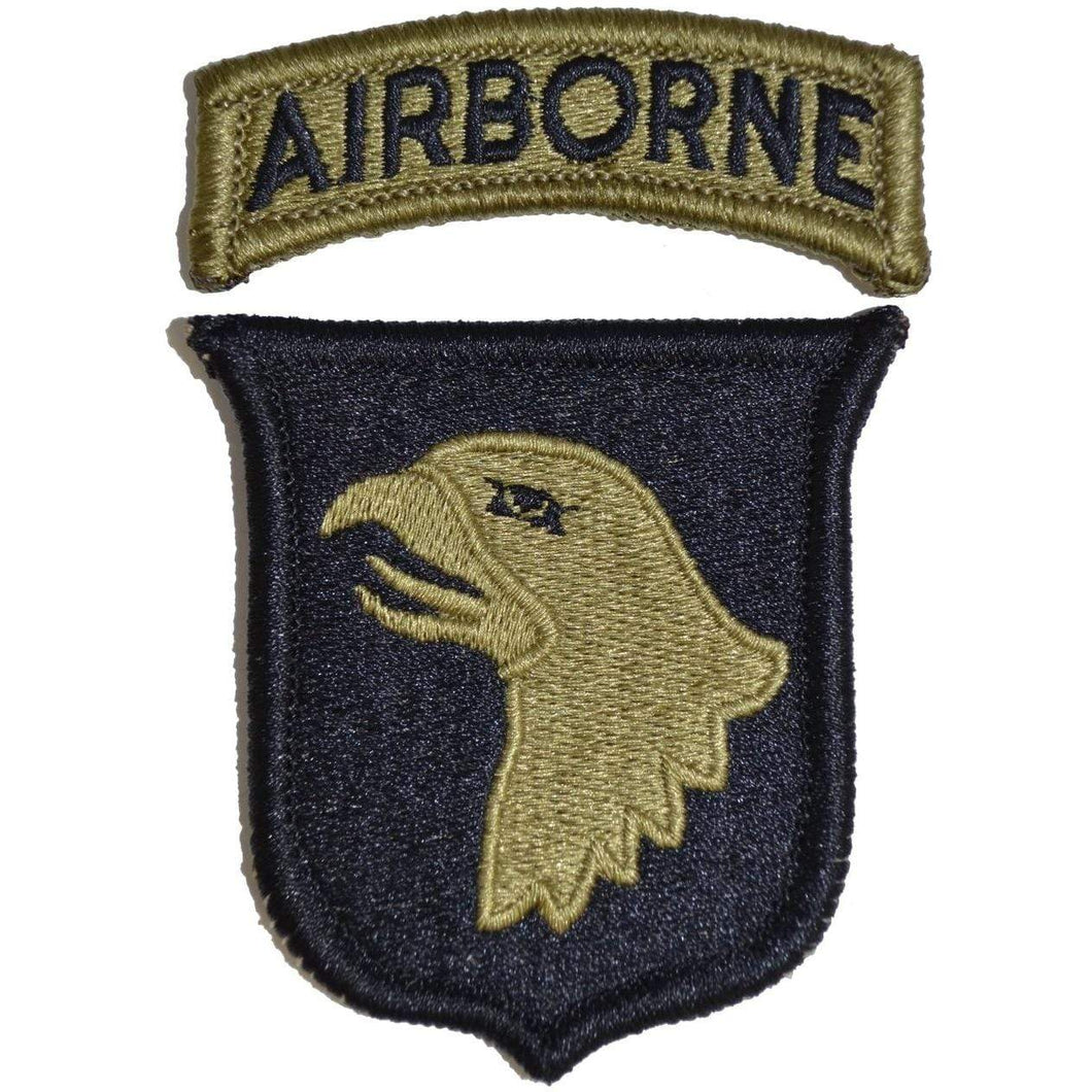 Tactical Gear Junkie Insignia 101st Airborne Division Patch with Airborne Tab - OCP/Scorpion