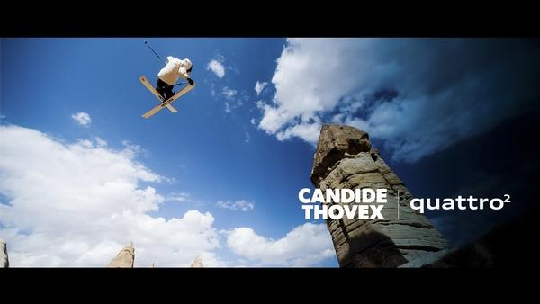 Candide Thovex Skis The World