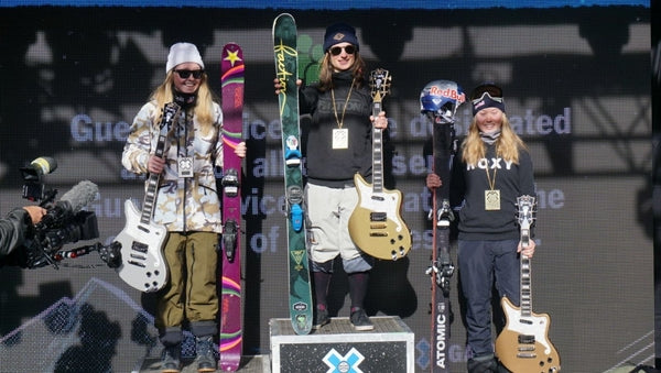 Sarah Hoefflin wins X-Games Aspen Big Air