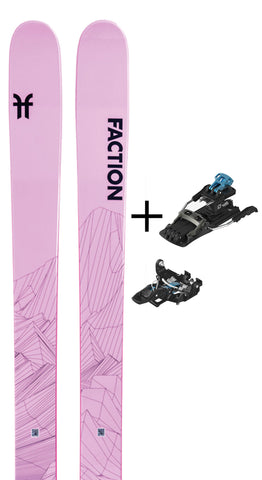 Agent 2.0X with Salomon MTN Tour Binding