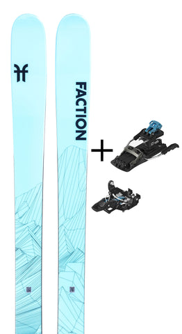Agent 1.0X with Salomon MTN Tour Binding