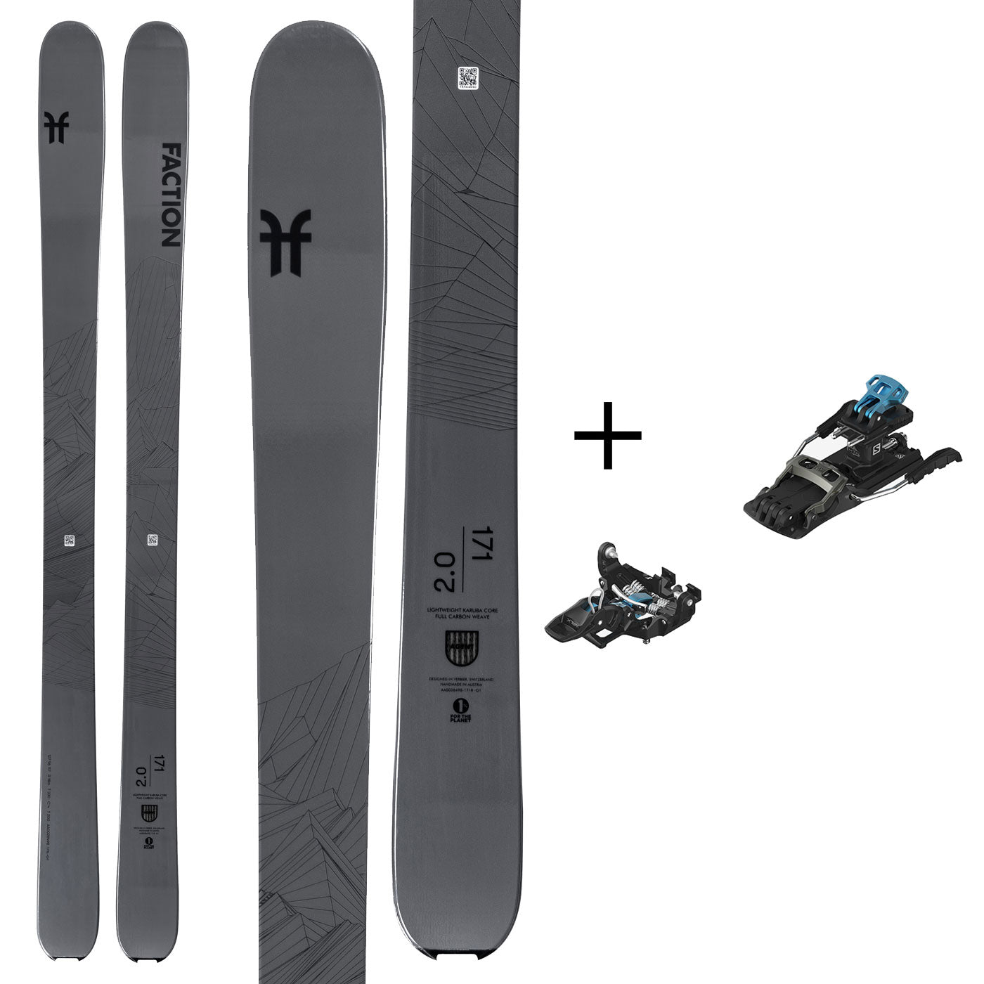 Agent 2.0 with Salomon MTN Tour Binding