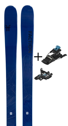 Agent 1.0 with Salomon MTN Tour Binding