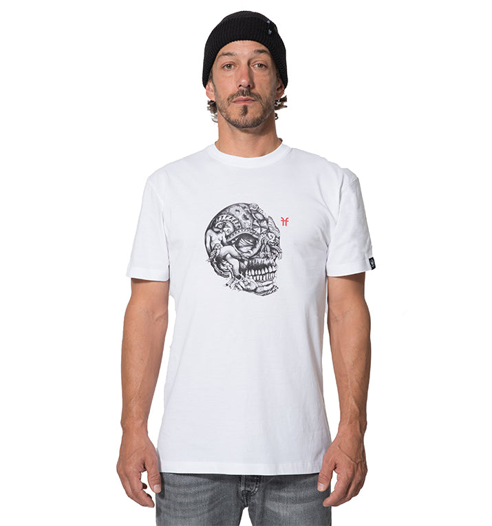 MENS DRAGON SKULL T-SHIRT