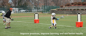 Improve youth lacrosse coaching and build shooting and scooping fundamentals, keys for learning lacrosse. Play small side lacrosse games. Increase player participation and touches and keep them more engaged in lacrosse.