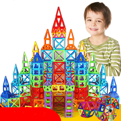 Magnetic Tiles ( Magna Tiles) Designer Construction Blocks 110-184 Piece Set