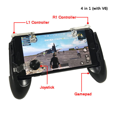 PUBG AND FORTNITE CONTROLLER WORKS WITH ALL IPHONES AND SAMSUNGS