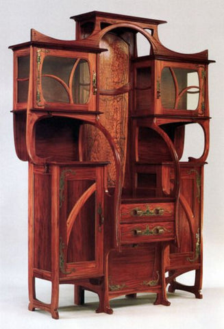 Understand And Define Art Nouveau Furniture Styles Live Edge Solid