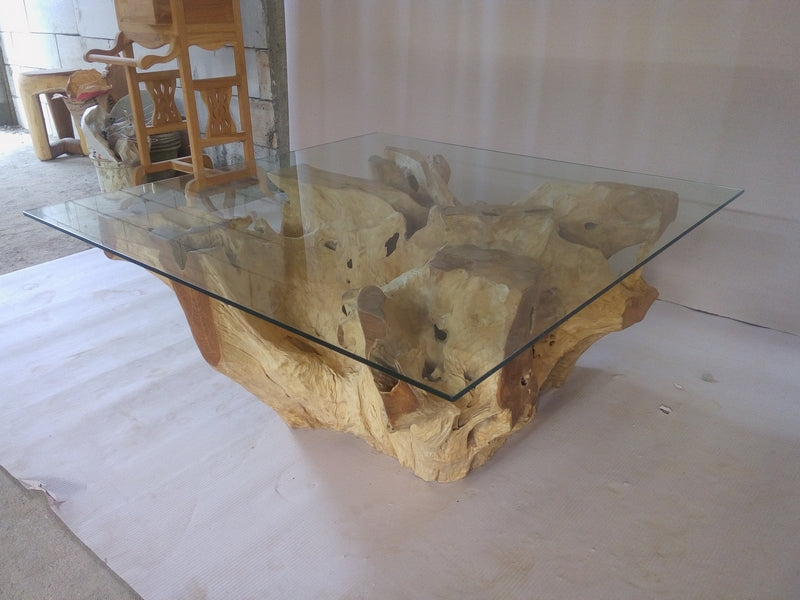 [Sale] Teak Root Coffee Table