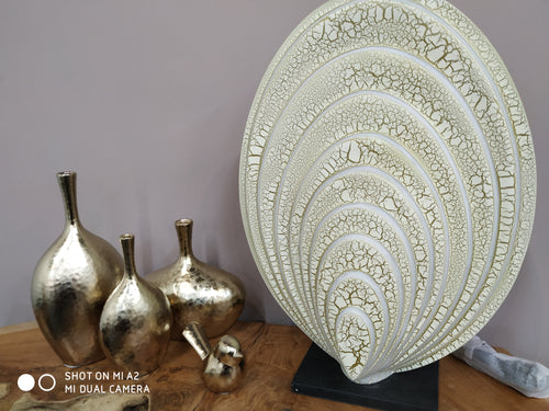 One-of-a-Kind Table Lamp (Cream & Gold) & Accent Lighting