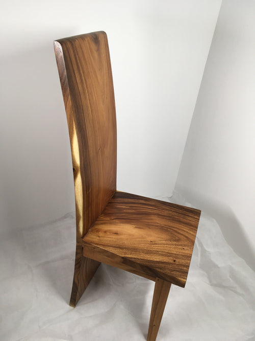 Suar Acacia Solid Wood Slab Chairs