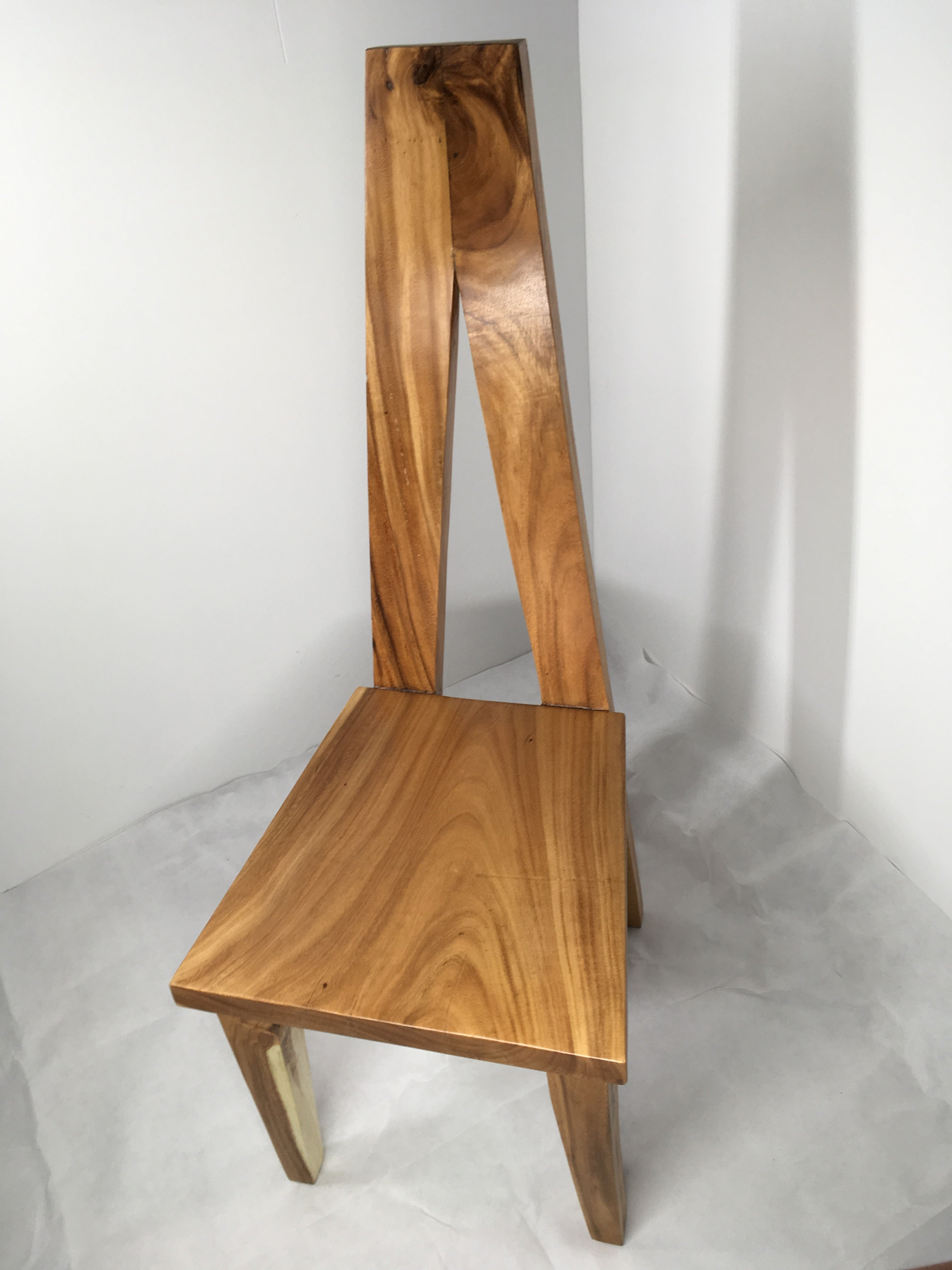 Suar Designer A Shaped Solid Wood Chair
