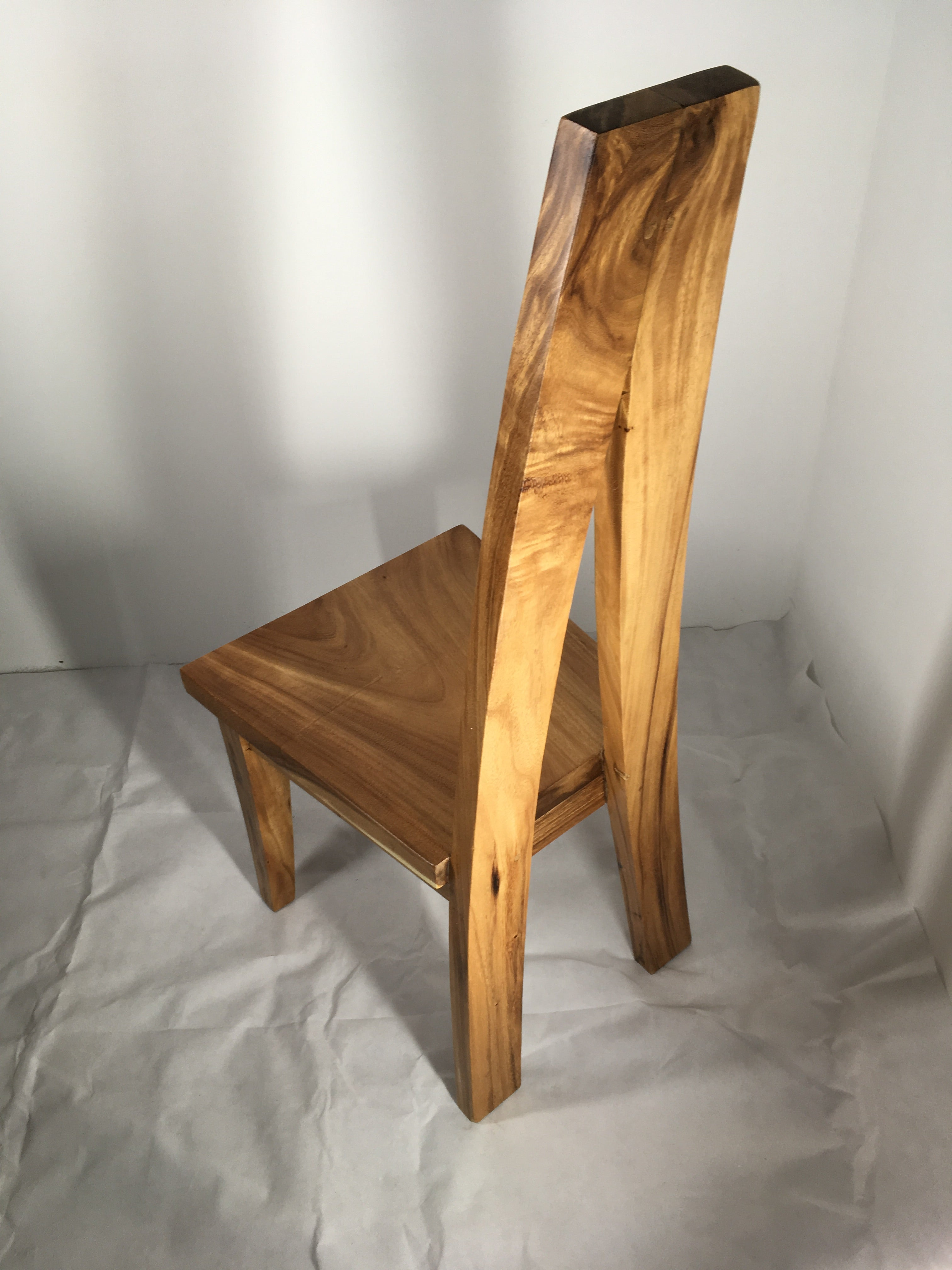 Live Edge Solid Wood Dining Chairs Toronto Ontario Unique One of a Kind