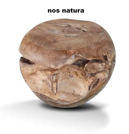 Teak Root Ball Stool - Coffee Table or Accent Table