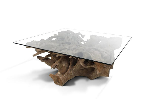 Natural Teak Root Coffee Table Or Cocktail Table Wholesale
