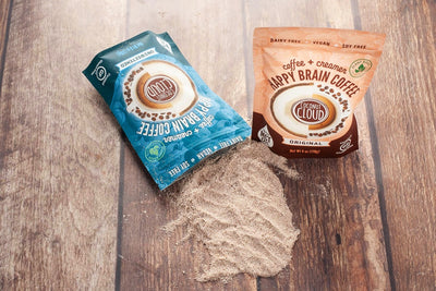 Happy Brain Coffee makes Instant Dairy-Free Lattes with MCT Oil