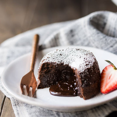 Recipe: Ooey Gooey Chocolate Lava Cakes (Vegan)