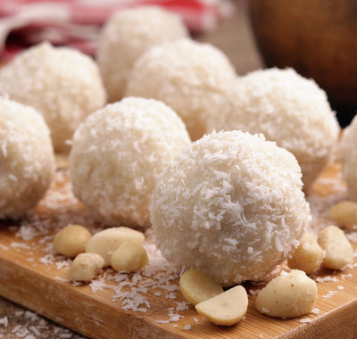 Recipe: White Chocolate Truffles (Gluten Free)