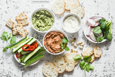 Cashew Based Vegan Dips