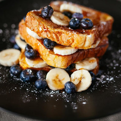 Recipe: Vegan French Toast (Dairy-Free)