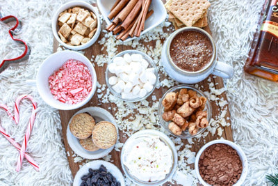 Our Top 5 Vegan Hot Cocoa Charcuterie Boards