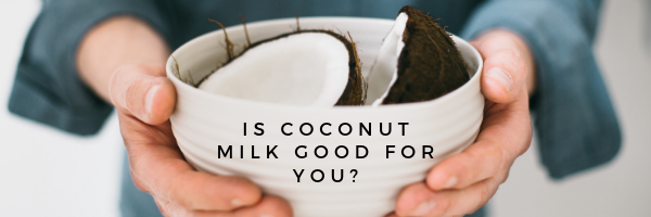 bowl of coconut milk