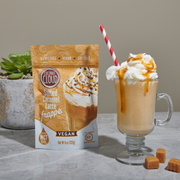 NEW Dairy-Free Salted Caramel Frappe