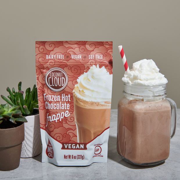 NEW Dairy-Free Frozen Hot Chocolate Frappe
