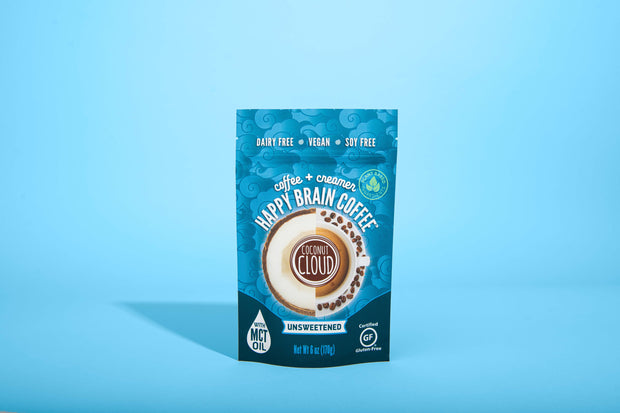 NEW Happy Brain Coffee, Unsweetened
