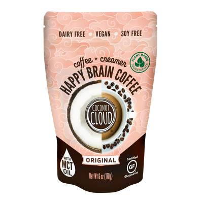 NEW Happy Brain Coffee Original, (Pre-Order for October Delivery)