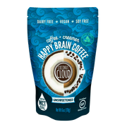 NEW Happy Brain Coffee Unsweetened, (Pre-Order for October Delivery)